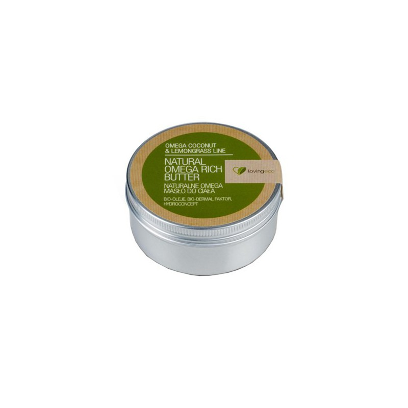 Naturalne omega masło do ciała 150 ml